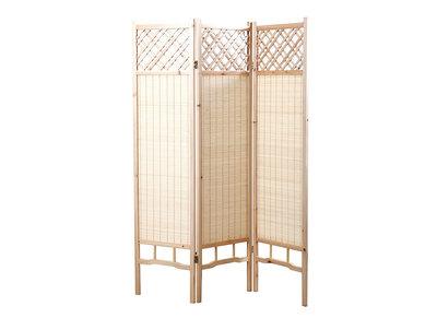 paravent pas cher paravent en bois japonais ou en bambou. Black Bedroom Furniture Sets. Home Design Ideas