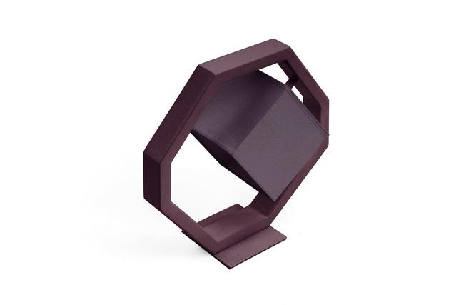 petite lampe poser design equalizer violet miliboo. Black Bedroom Furniture Sets. Home Design Ideas