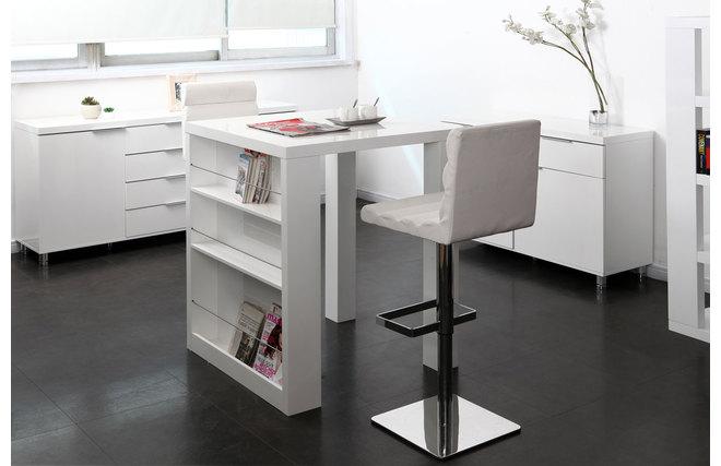 table bar avec rangement maison design. Black Bedroom Furniture Sets. Home Design Ideas