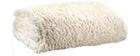 Plaid doux ivoire 140 x 200 cm LAMA