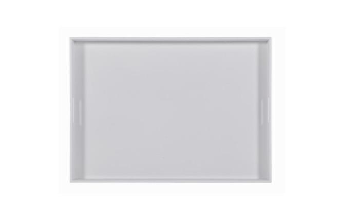 Plateau design blanc 50x70cm tavla miliboo for Miroir des modes 427