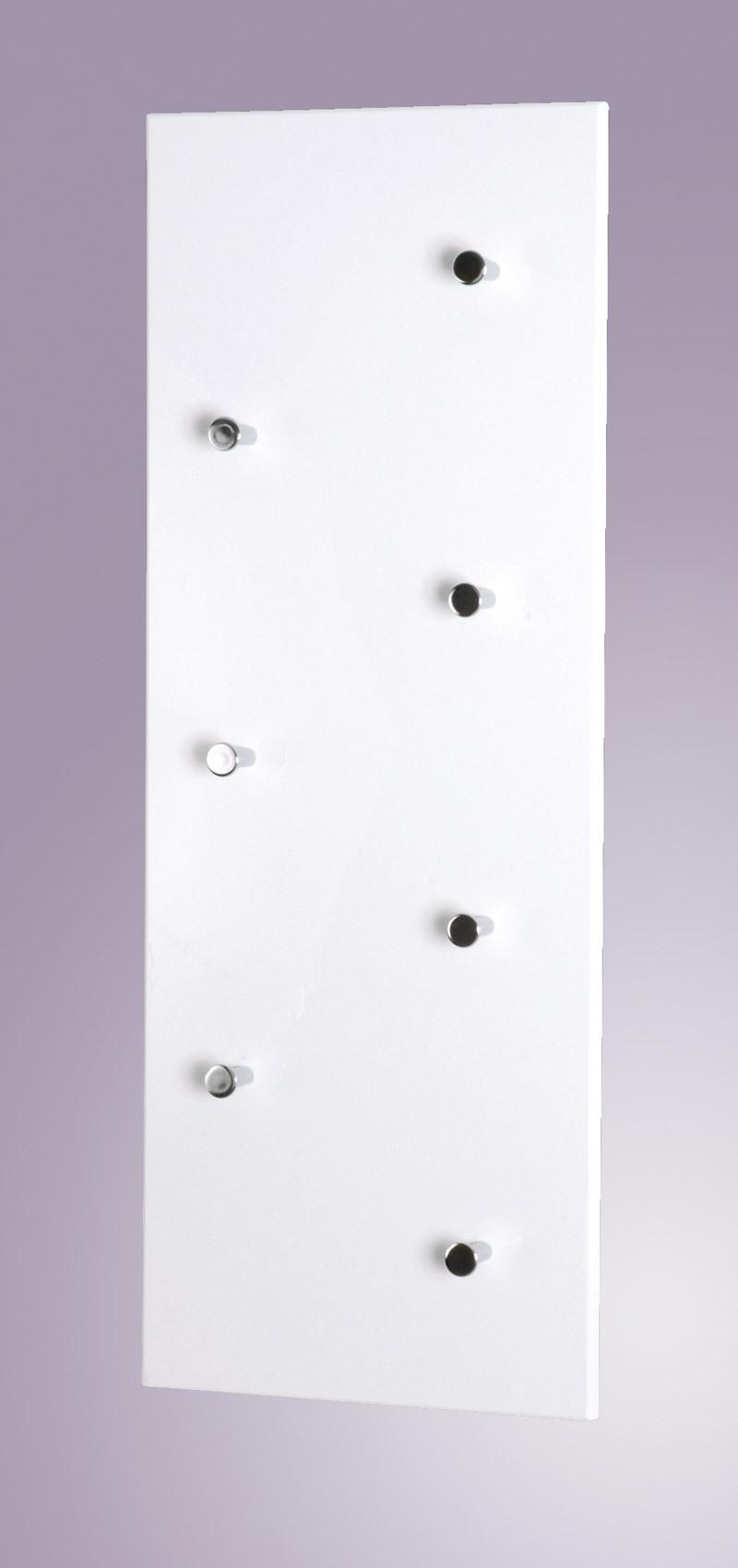 porte manteau mural design blanc wall miliboo. Black Bedroom Furniture Sets. Home Design Ideas
