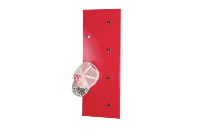 porte manteau mural design rouge wall miliboo. Black Bedroom Furniture Sets. Home Design Ideas