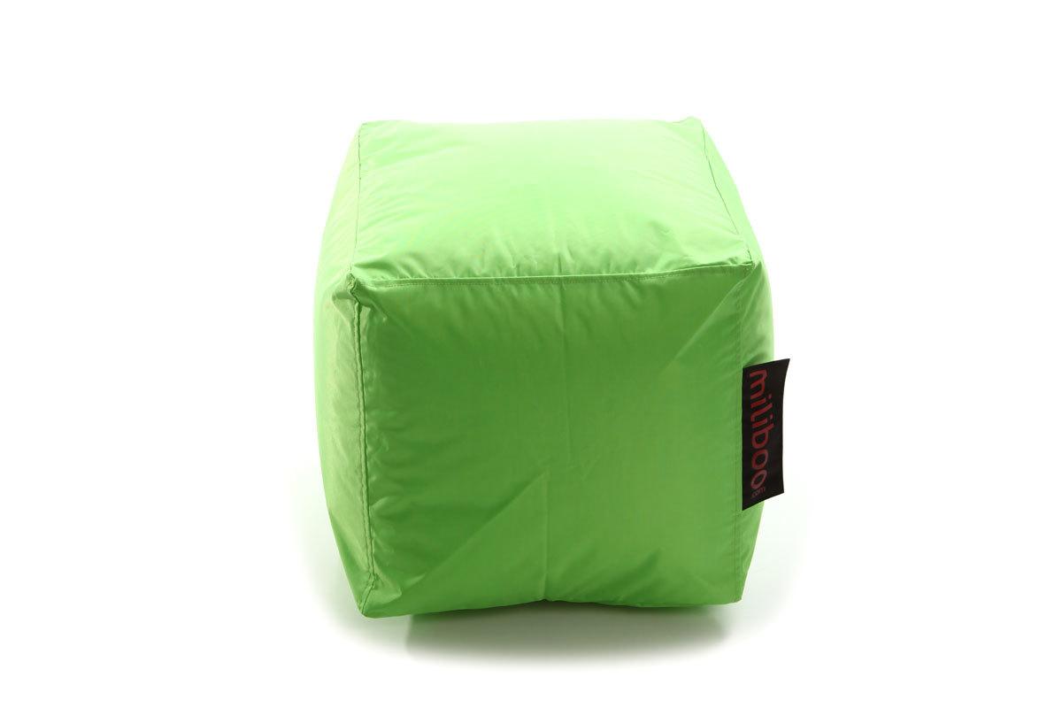 pouf vert anis. Black Bedroom Furniture Sets. Home Design Ideas