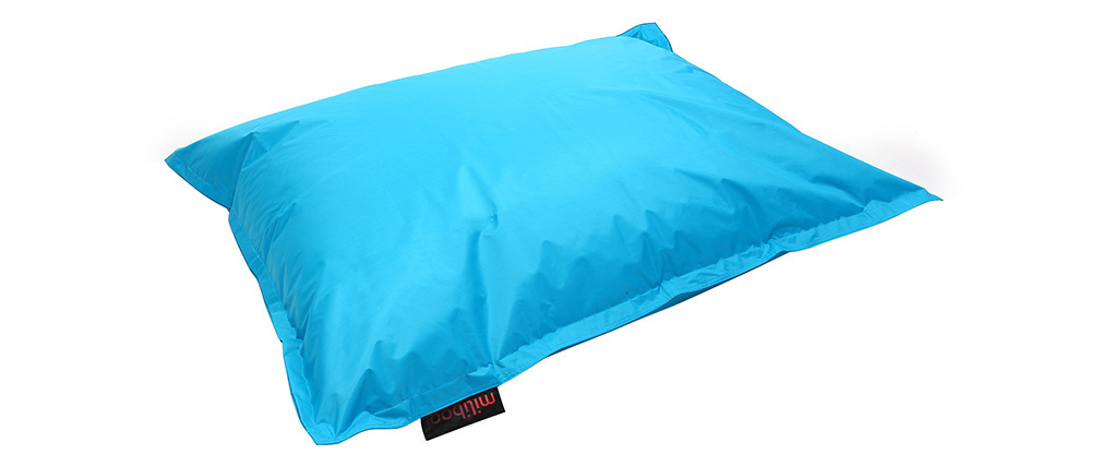 Pouf géant design bleu BIG MILIBAG
