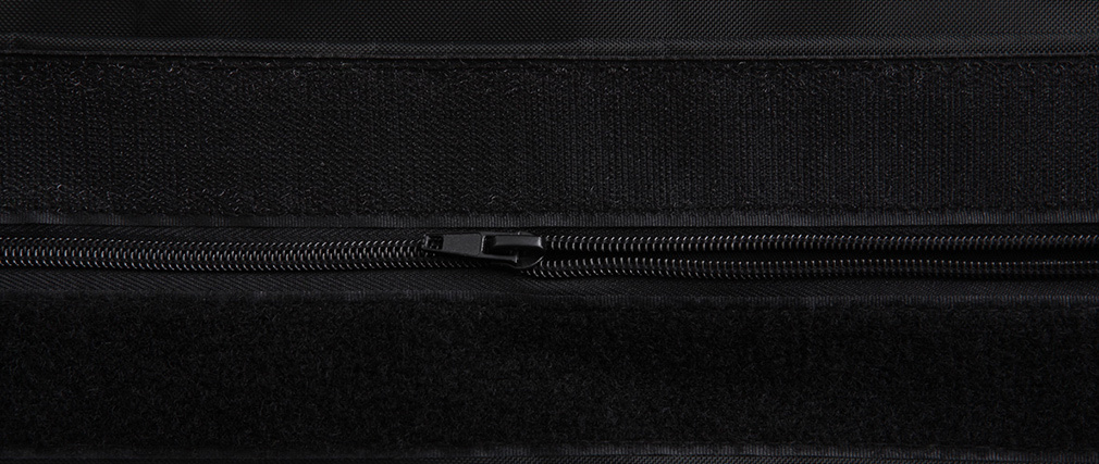 Pouf géant design polyester noir BIG MILIBAG