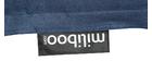 Pouf géant en coton bleu jean BIG MILIBAG