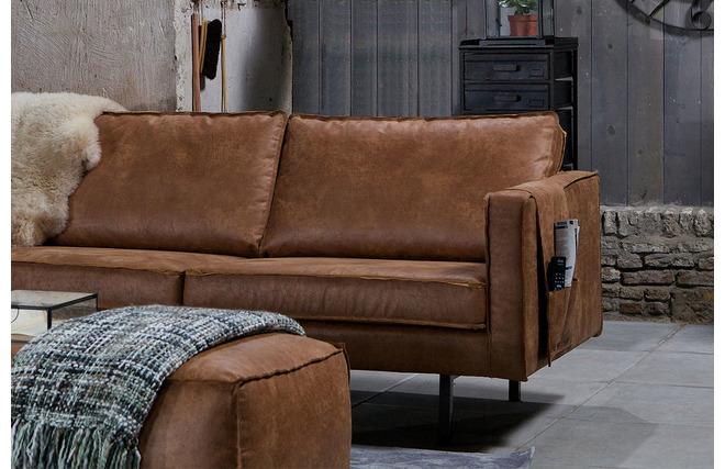 repose accoudoir pour canap cuir vintage aspen miliboo. Black Bedroom Furniture Sets. Home Design Ideas