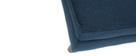 Repose-pied design bleu YNOK