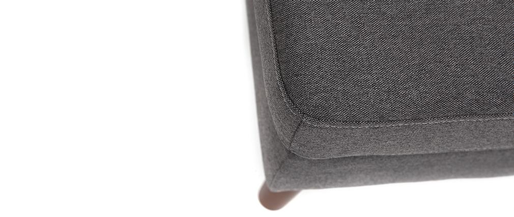Repose-pied design gris anthracite YNOK
