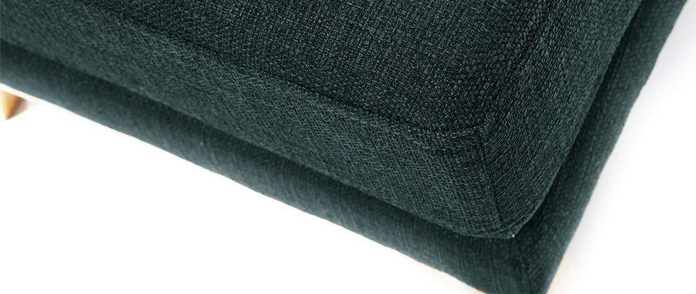 Repose-pieds scandinave déhoussable gris foncé OSLO
