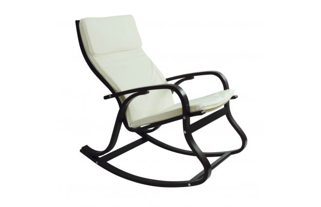 rocking chair design weng blanc hardy miliboo. Black Bedroom Furniture Sets. Home Design Ideas