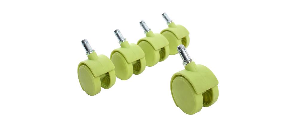 Roulettes vertes