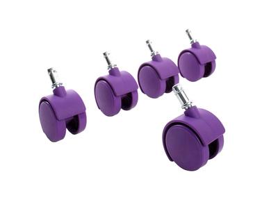 Roulettes violettes