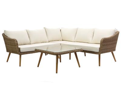salon de jardin et mobilier gris miliboo. Black Bedroom Furniture Sets. Home Design Ideas