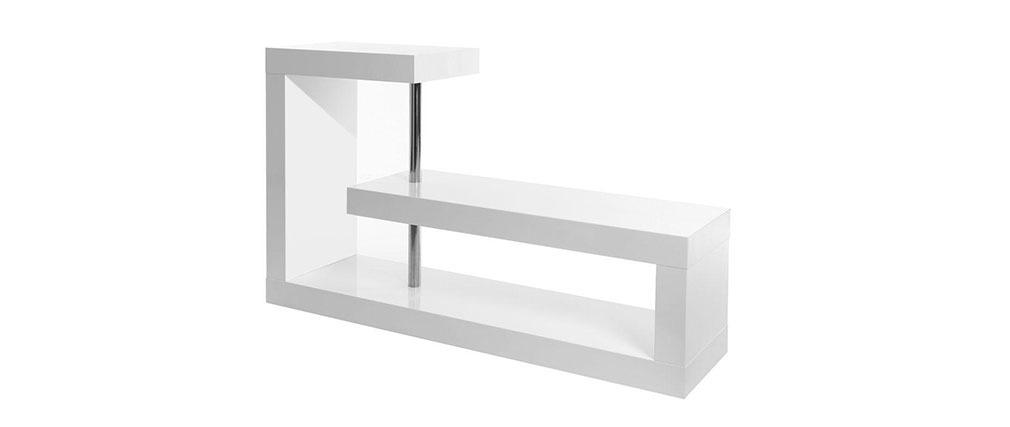 Séparateur de pièces design laqué blanc MAX