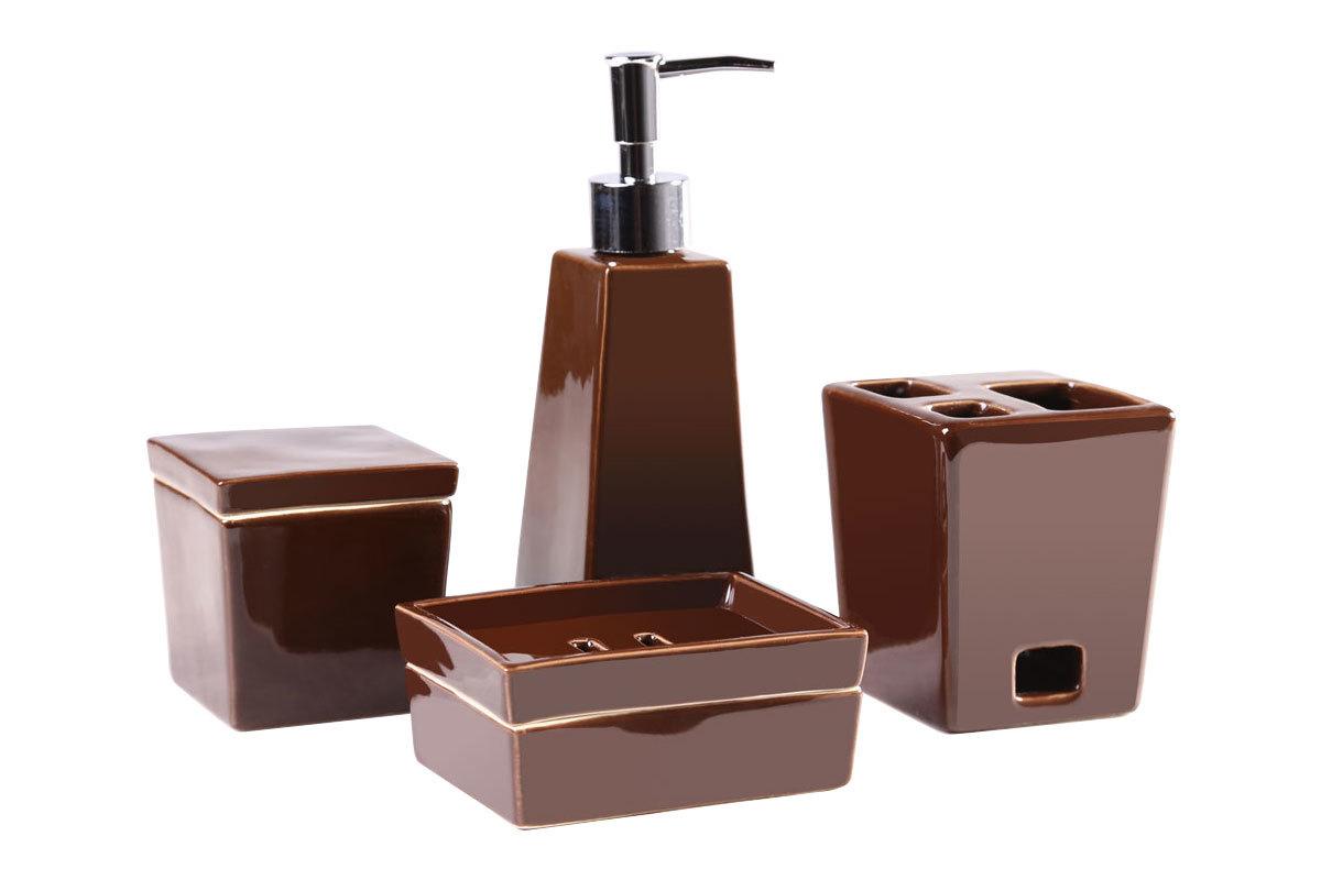 Accessoire salle de bain 4 for Set accessoires salle de bain design