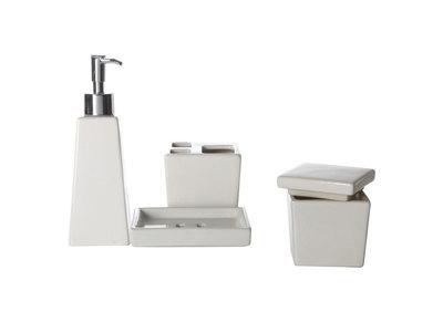 Miliboo - Accessoires salle de bain design noir ...