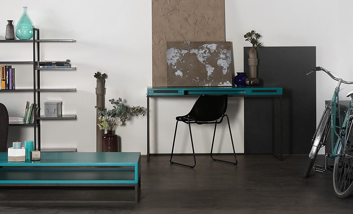 Soliflore design en béton taille S UNIK