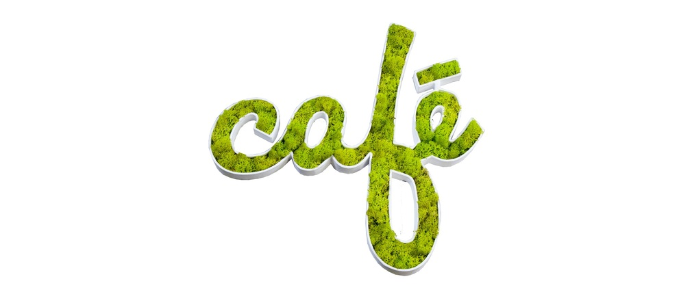 Stickers végétal design SIGNALIS Café