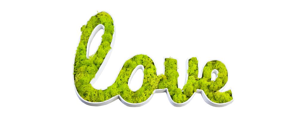 Stickers végétal design SIGNALIS Love