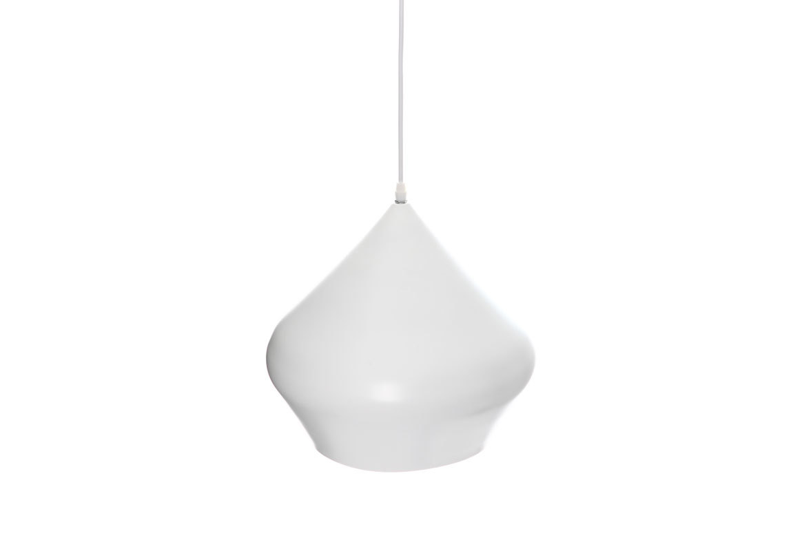 Suspension design blanc GOCCIA