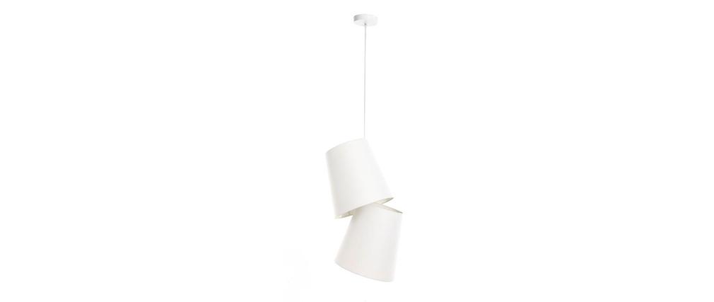Suspension design blanche BAYA