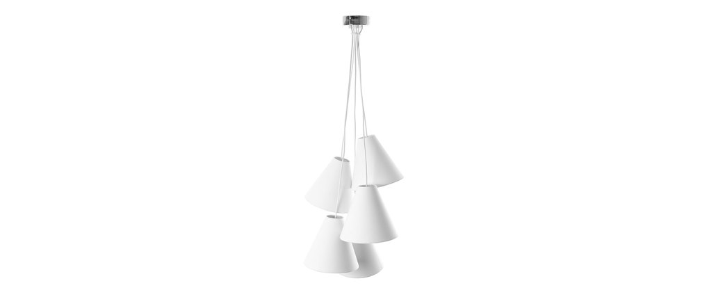 Suspension design blanche LANA