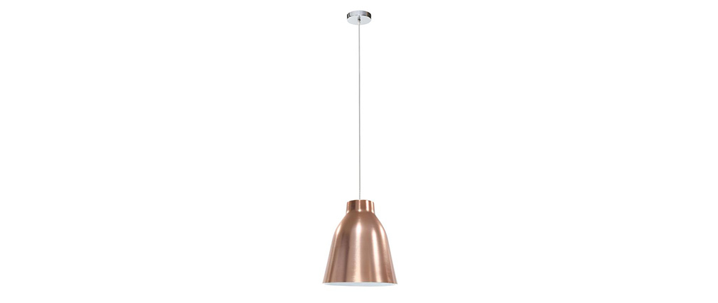 Suspension design corola l cuivre miliboo - Suspension cuivre design ...