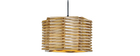 Suspension design en bois PENTA