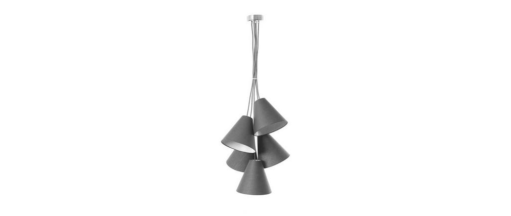 Suspension design gris anthracite LANA