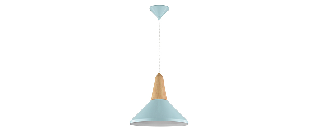 Suspension design métal bleu DIDO