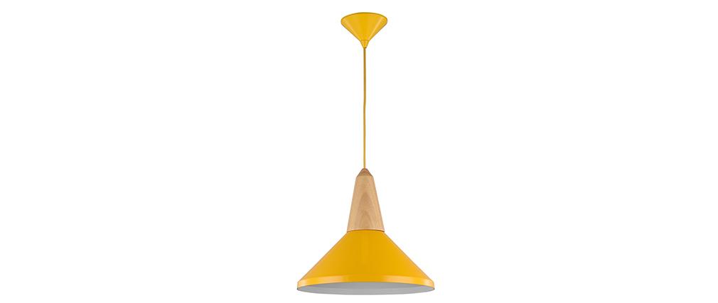 Suspension design métal jaune DIDO