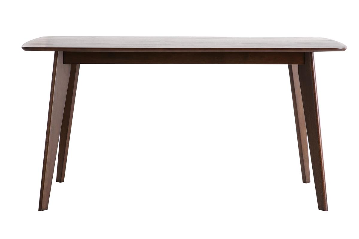 table a manger design delyane noir une table manger. Black Bedroom Furniture Sets. Home Design Ideas