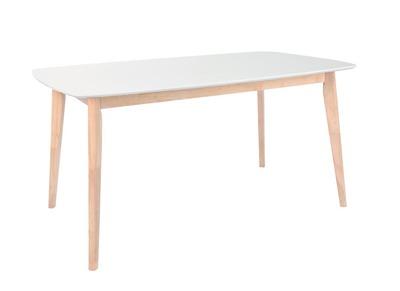 Manger Design Leena Blanc Table Clair 120 À Bois Cm Et trCxshQd
