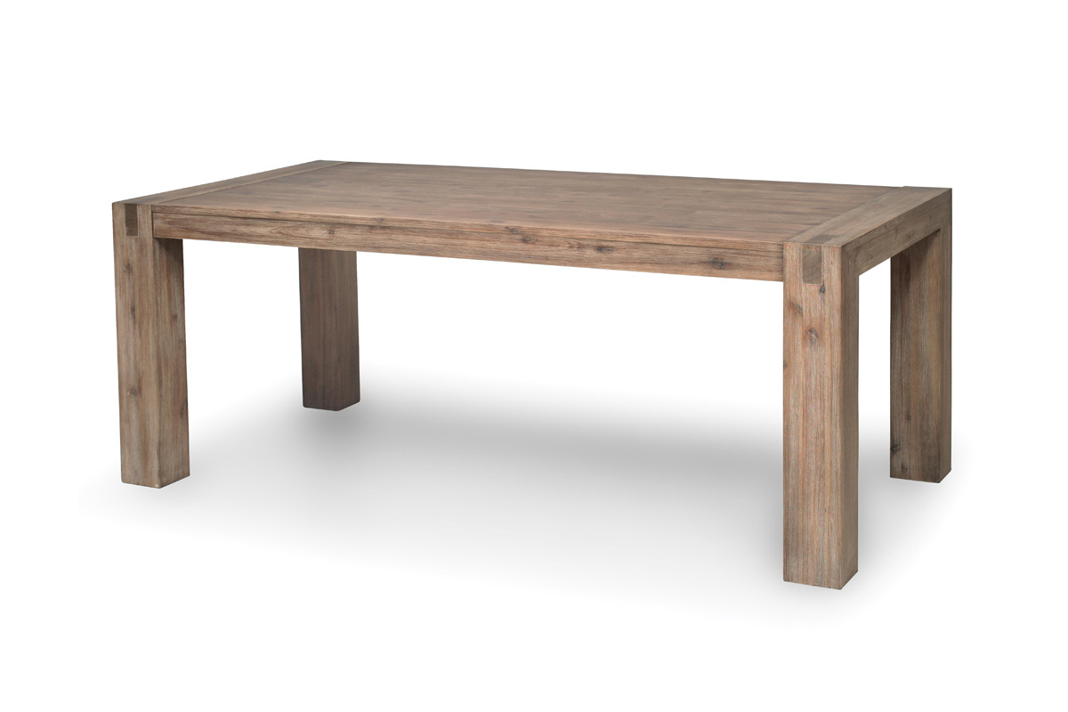 Table design bois massif for Table a manger bois massif