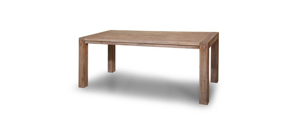 Table à manger design bois massif SIENNA