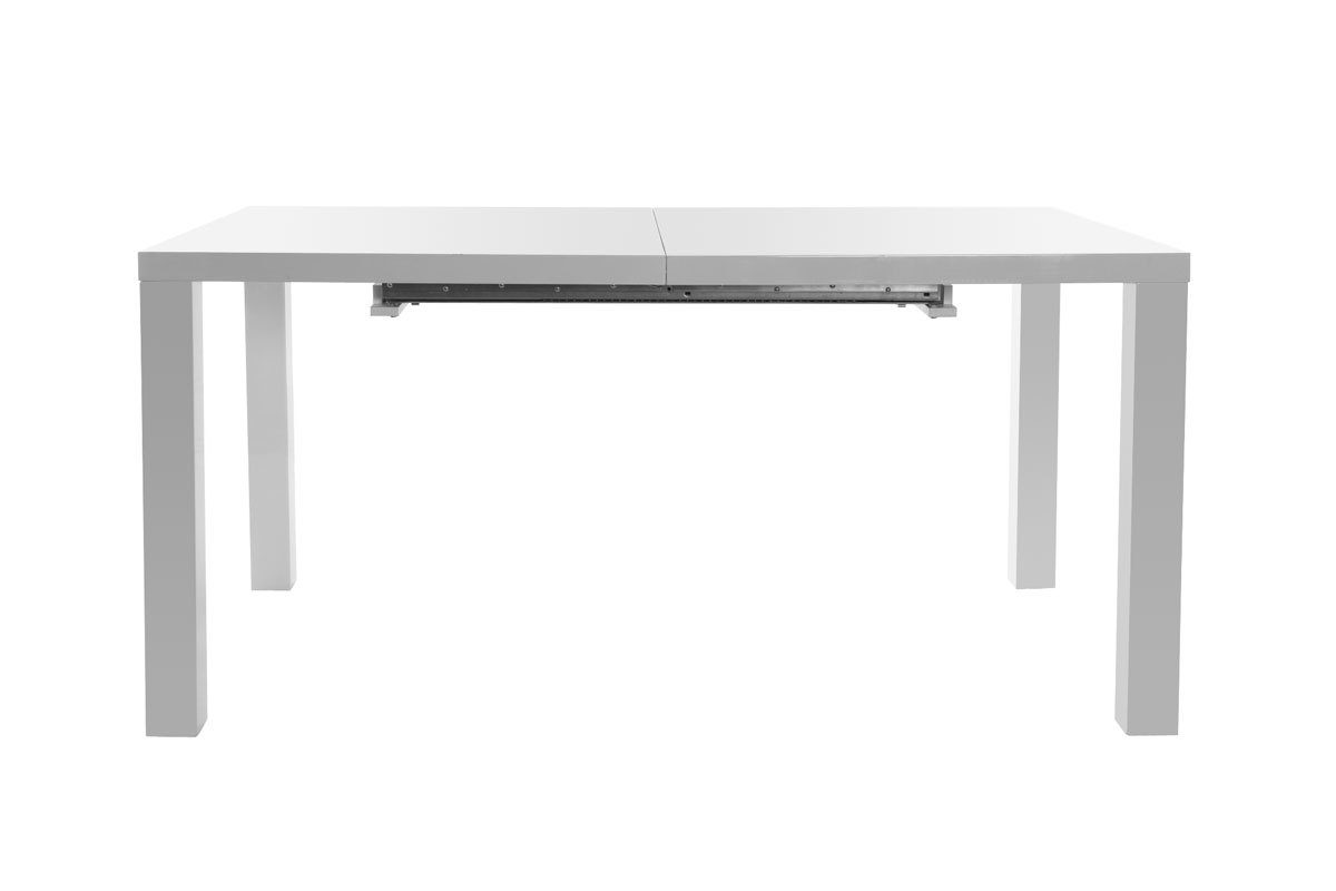 Table manger design extensible 160 200x90 karyes blanc for Table a manger extensible design
