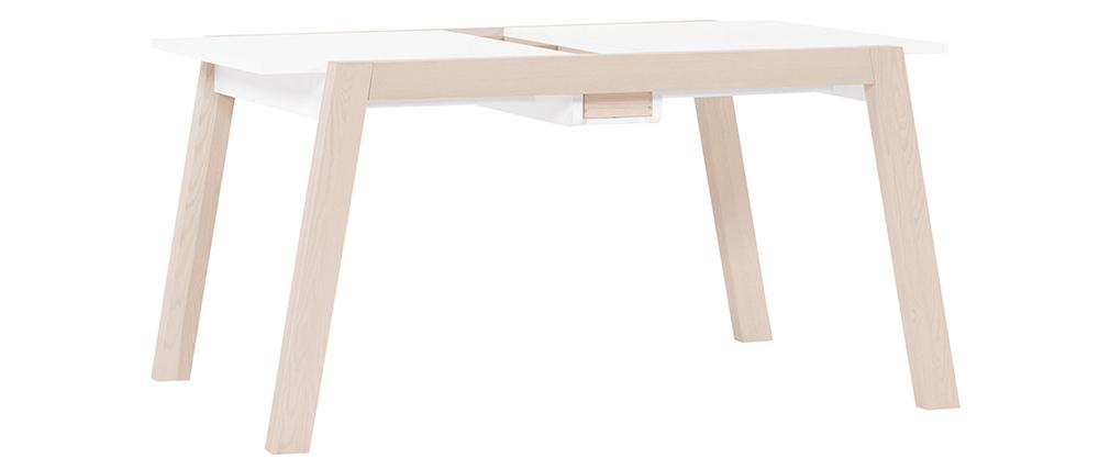 Table à manger design extensible avec rangements L150-200 EASY