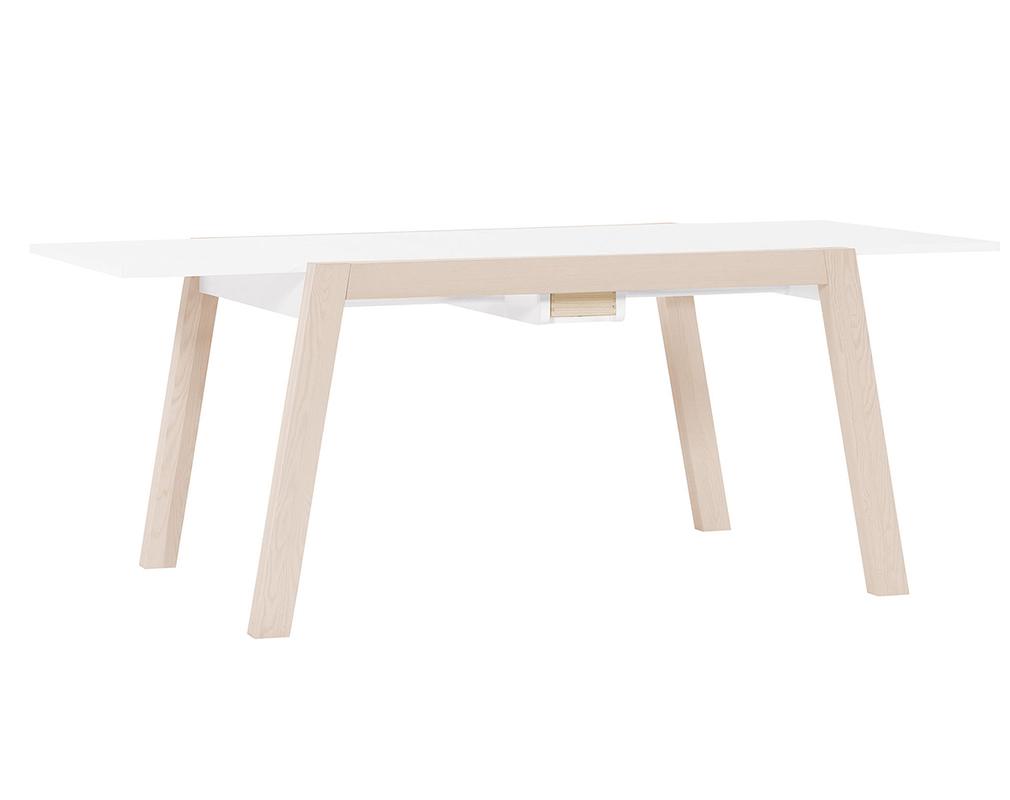 Table A Manger Design Extensible Avec Rangements L150 200