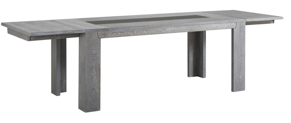 Table manger design extensible ch ne gris willow miliboo - Table design grise ...