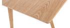 Table à manger design frêne L160 cm KYOTO