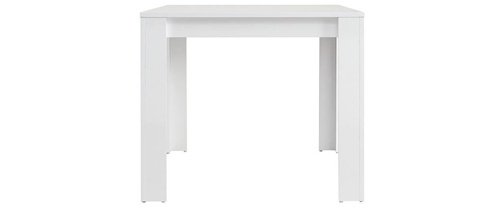 Table à manger design laquée blanc L170 cm NEYO