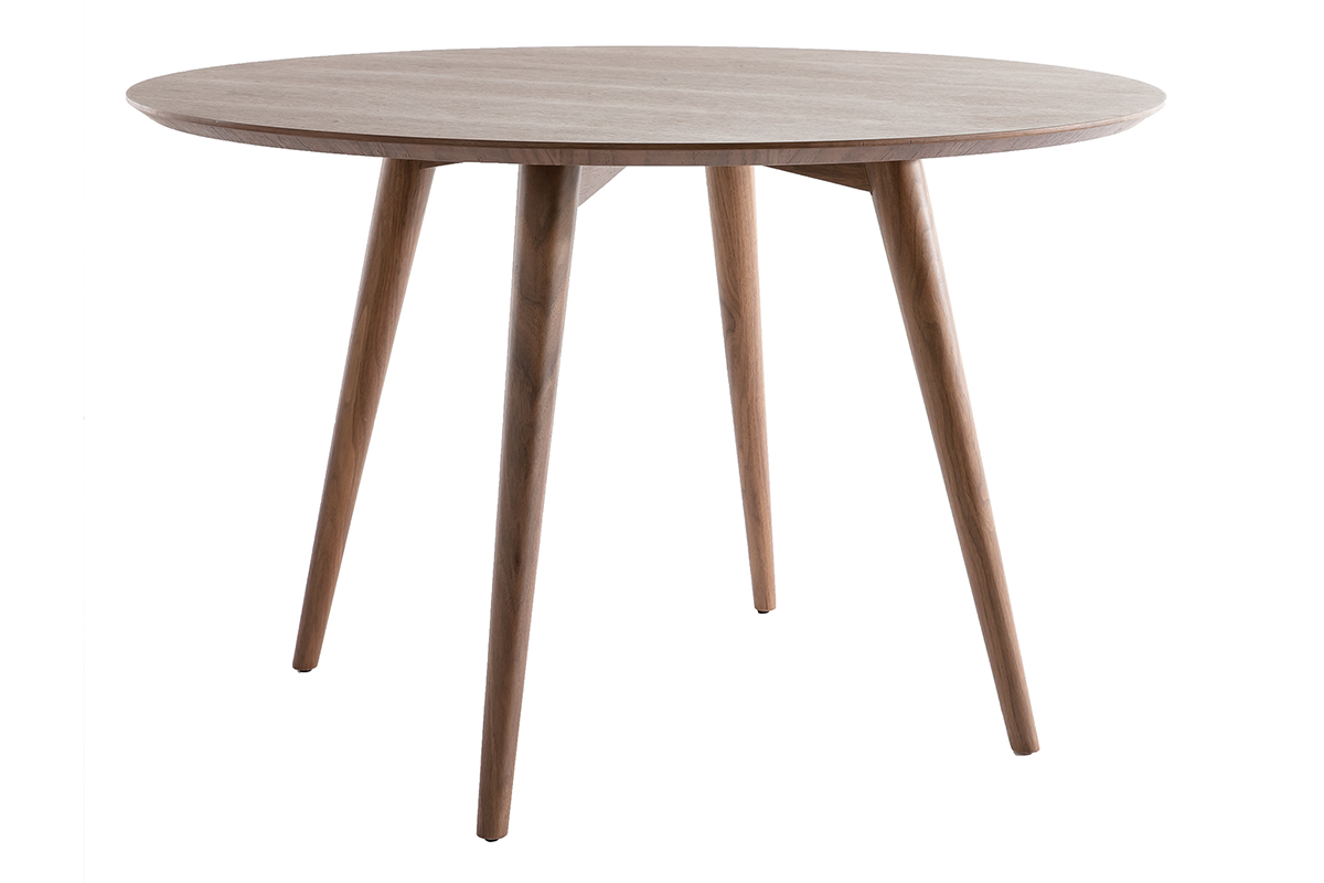 Table salle manger ronde extensible for Table a manger ronde
