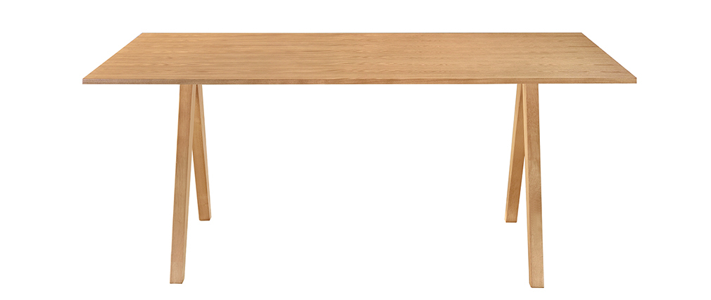 Table à manger design scandinave chêne L180 DANA