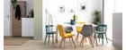 Table à manger design scandinave L160 cm TOTEM