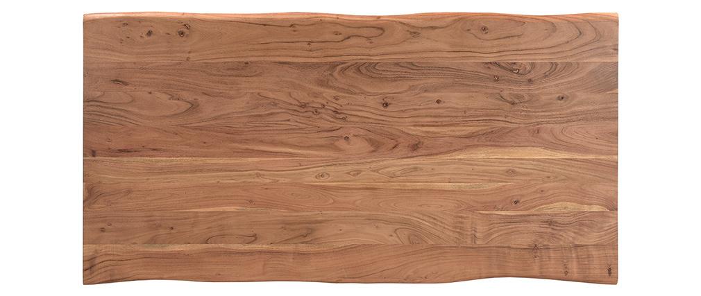 Table à manger en acacia massif L175 cm SAVANA