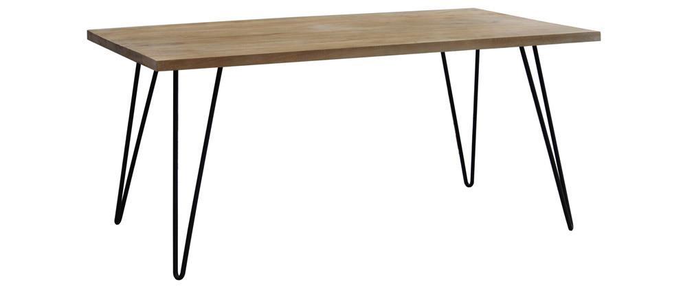 Table à manger en manguier massif L160 cm VIBES