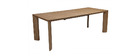 Table à manger extensible design frêne L180-220 LOUNA