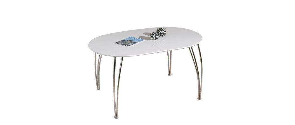 Table Extensible De Salle A Manger Friendly Taupe Mat